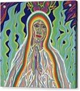 Our Lady Of Fatima 2012 Acrylic Print