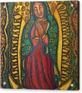 Our Lady Of Glistening Grace Acrylic Print by Marie Howell Gallery