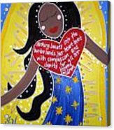 Our Lady Of Guadalupe Acrylic Print