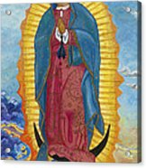 Our Lady Of Guadalupe-new Dawn Acrylic Print by Mark Robbins