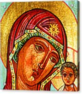Our Lady Of Kazan Acrylic Print