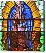 Our Lady Of Peace Acrylic Print by Christine Till