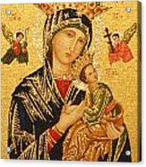 Our Lady Of Perpetual Help  Acrylic Print