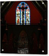 Our Lady Of The Atonement Acrylic Print