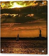 Our Lady Of The Harbor Acrylic Print