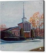 Our Lady Of The Lakeschurch Oakdale Ct Acrylic Print