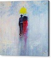 Our Love And A Summer Rain Acrylic Print