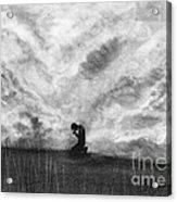 Our Prayers Acrylic Print by J Ferwerda