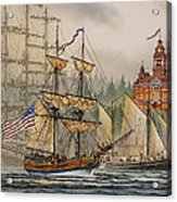 Our Seafaring Heritage Acrylic Print by James Williamson