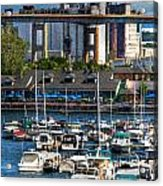 Out At The Harbor V3 Acrylic Print