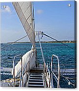 Out For A Sail Acrylic Print