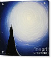 Somewhere Out In Space Acrylic Print by Chris Mackie