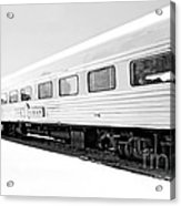 Out In The Open Bw Acrylic Print