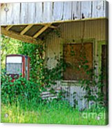 Out Of Business Acrylic Print