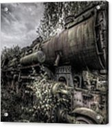 Out Of Steam Acrylic Print