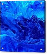 Out Of The Blue Acrylic Print