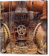 Out Of The Furnace Acrylic Print