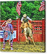 Out The Gate Acrylic Print