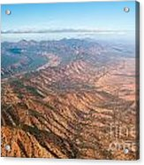 Outback Ranges Acrylic Print