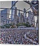 Chicago Outdoor Concert Acrylic Print