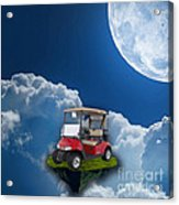 Outdoor Golfing Acrylic Print
