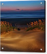 Outer Banks - Before Sunrise On Pea Island I Acrylic Print