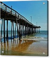 Outer Banks Pier South Nags Head 2 5/22 Acrylic Print
