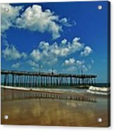 Outer Banks Pier South Nags Head 1 5/22 Acrylic Print