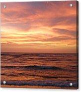 Outer Banks Sunset - Buxton - Hatteras Island Acrylic Print