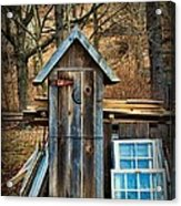 Outhouse - 5 Acrylic Print by Paul Ward