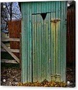 Outhouse - 6 Acrylic Print