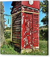 Outhouse 9 Acrylic Print