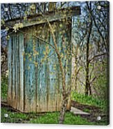 Outhouse In Spring Acrylic Print