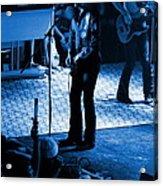 Outlaws #17 Blue Acrylic Print