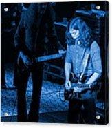 Outlaws #20 Crop 3 Blue Acrylic Print