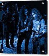 Outlaws #25 Crop 2 Blue Acrylic Print