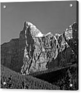 1m3621-bw-outlier Of  Mt. Murchison  Acrylic Print