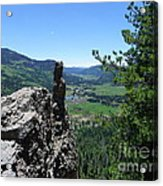 Outlook From The Ridge Acrylic Print