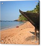 Outrigger On Cola Beach Acrylic Print