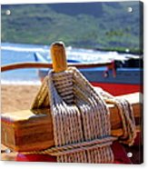 Outrigger Rigging Acrylic Print