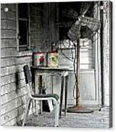 Outside Air-conditioning Acrylic Print