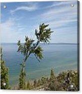 Over Lake Michigan Acrylic Print