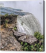 Over The Edge Niagara Falls Acrylic Print