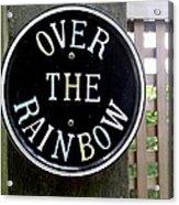 Over The Rainbow Acrylic Print