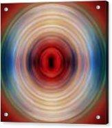 Over The Rainbow Spin Art 10 Acrylic Print