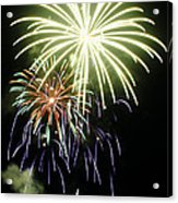 4th Of July Fireworks 5 Acrylic Print