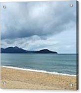 Overcast Beach Acrylic Print