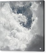 Overcast In Arizona Acrylic Print