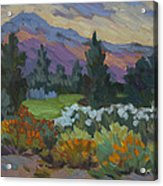 Overcast Light In Santa Barbara Acrylic Print