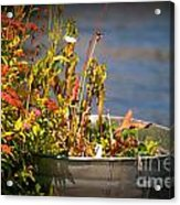 Overflower Acrylic Print